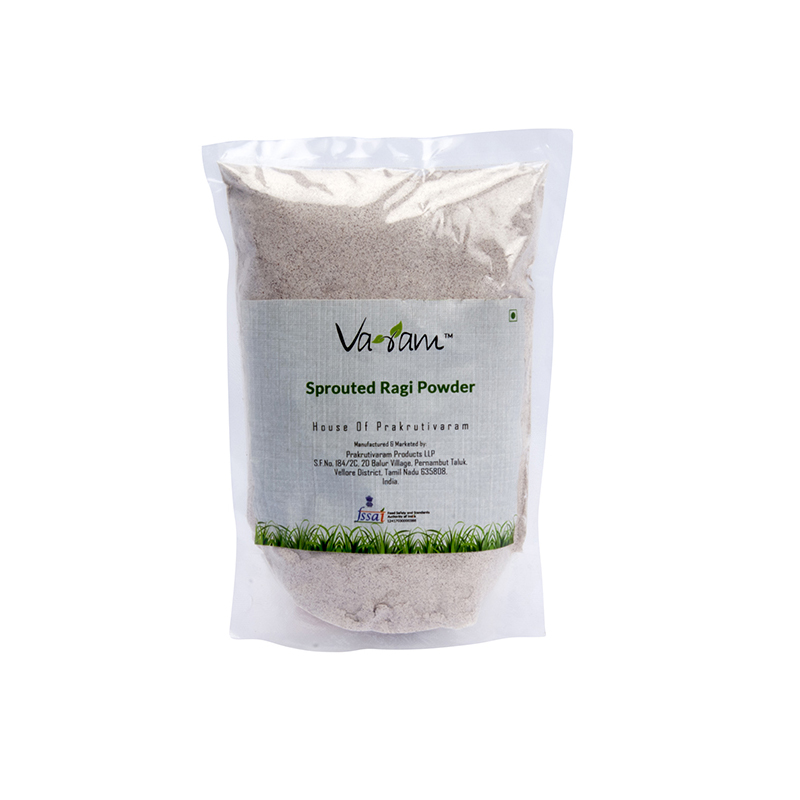 sprouted raagi powder500gms